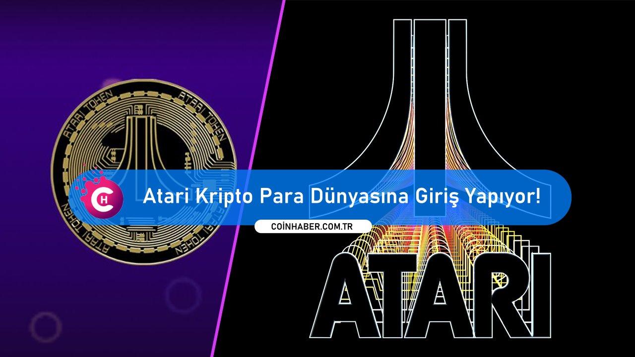 Atari Kripto Para Dünyasına Giriş Yapıyor!